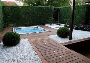 Gartengestaltung Mit Holz : gartengestaltung mit holz und kies outdoor on pinterest nowaday garden ~ Watch28wear.com Haus und Dekorationen