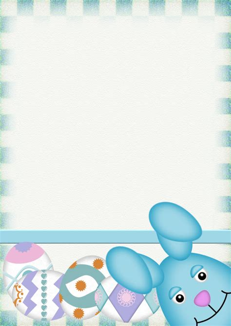 easter stationery downloads page