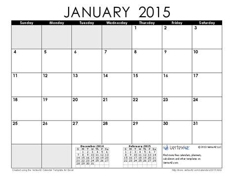 Free Downloadable 2015 Calendar Template January 2015 Calendar Printable Pdf 2015 Calendar