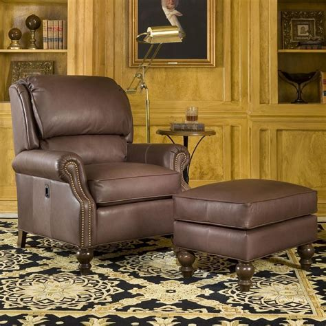 smith brothers 950 tilt back chair and ottoman combination