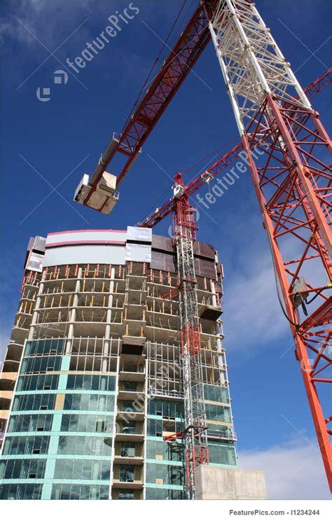 Skyscraper Construction Site Stock Photo I1234244 at