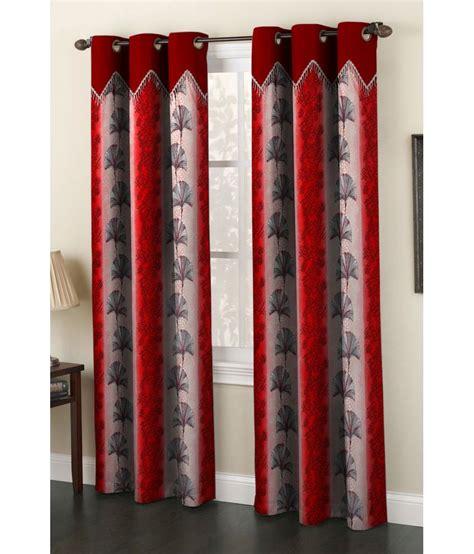 homefab india set of 2 window eyelet curtain buy homefab