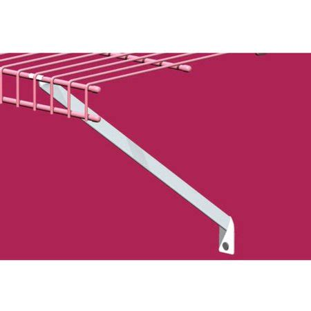Closetmaid Support Brackets by Closetmaid 12 Quot Support Brackets 12pk Walmart