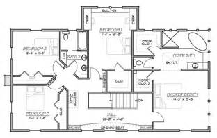 home blueprints farmhouse style house plan 5 beds 3 baths 3006 sq ft plan 485 1