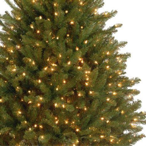 dunhill christmas tress home depot fir christimas trees 4 5 ft dunhill fir artificial tree with 450 clear lights duh3 45lo the home depot