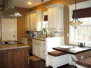 kitchen kitchen color ideas white cabinets with wooden With kitchen colors with white cabinets with house wall art