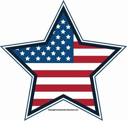Clipart Flag Stars Stripes America July 4th