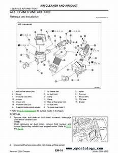 2003 Nissan 350z Interior Parts Diagram