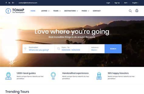 Camping, Hiking And Traveling Wordpress Themes