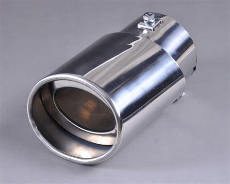 Chrome Exhaust Tail Muffler Tip Pipe For Honda Crv Cr-v