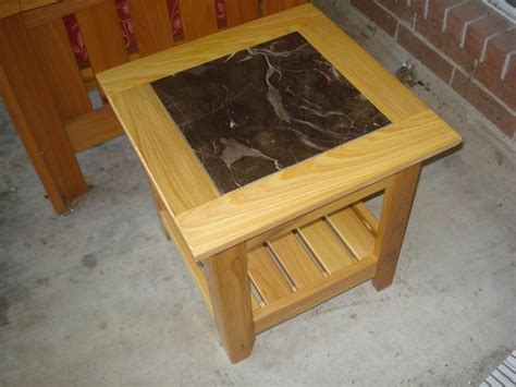 tile top patio end table w sketchup model by vrice