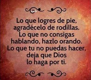 Frases espirituales en español Frases Pinterest Tes, Pies and Dios
