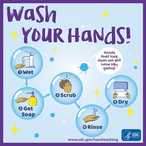 Buttons & Badges   Handwashing   CDC