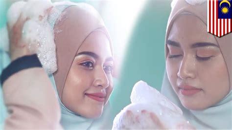 iklan lucu hijab shampoo  malaysia jadi viral youtube