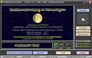 Mondphase Berechnen : mondphasen berechnung version 1 build 11 vom bei freeware ~ Themetempest.com Abrechnung