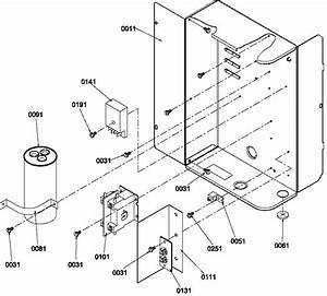 Control Box Diagram  U0026 Parts List For Model Rce48a2ap1218705c Amana