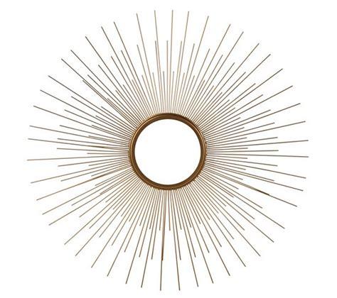 miroir soleil pas cher les bons plans bambou rotin dore vintage
