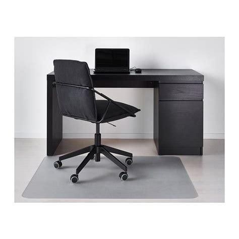 bureau malm ikea malm desk black brown cable shelves and on the shelf