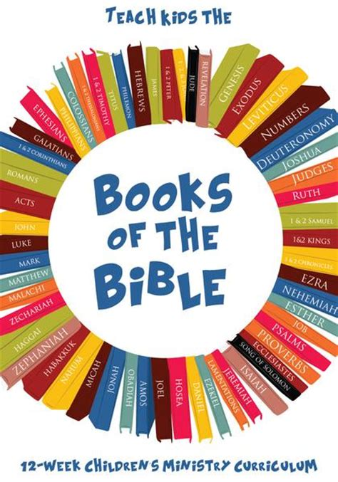 books   bible  week childrens ministry curriculum