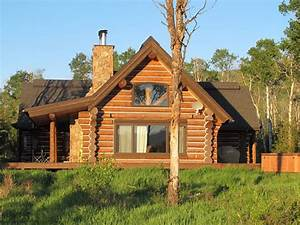 Luxurious yet cozy Log Cabin nestled in the Aspens on 42 ...