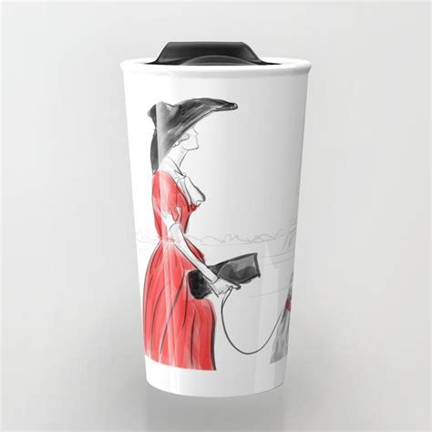 Having a good coffee in the morning can make your entire day energetic and amazing. Take your coffee to go with a personalized ceramic travel mug. Double-walled with a press-in ...
