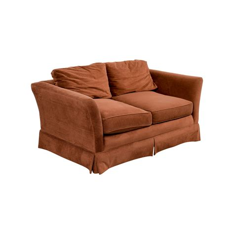 macy s sofas and loveseats 88 off macys macy 39 s small brown loveseat sofas