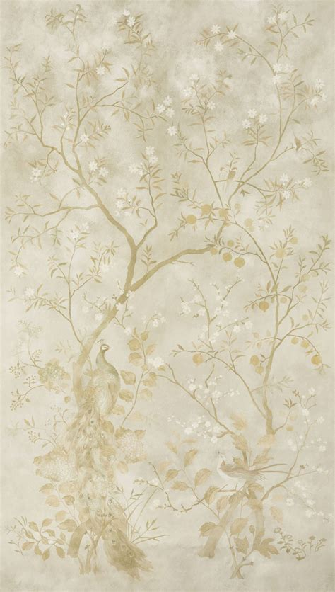 rotherby panels    zoffany  gold mural