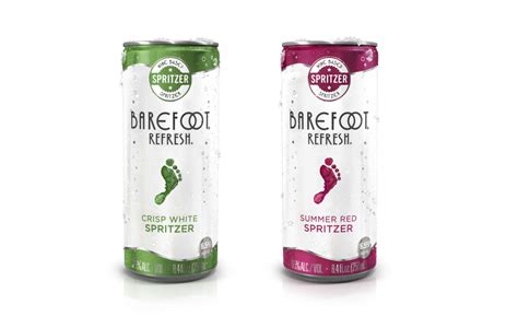 Barefoot launches Refresh Spritzers in cans | 2016-05-03 ...