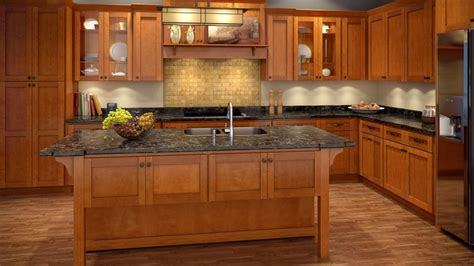 spice maple cabinets  built  maple
