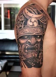 Tatouage Homme Japonais : tatouage samourai le tattoo des guerriers tattoo tatouage samourai tatouage et tatouage ~ Melissatoandfro.com Idées de Décoration