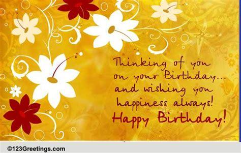 wishing  happiness   happy birthday ecards