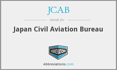 civil aviation bureau jcab civil aviation bureau