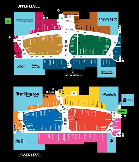 mall map   mills  jersey gardens  simon mall