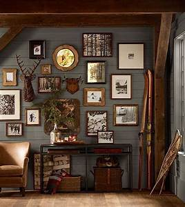 25 best ideas about hunting lodge decor on pinterest With what kind of paint to use on kitchen cabinets for wall art for man cave