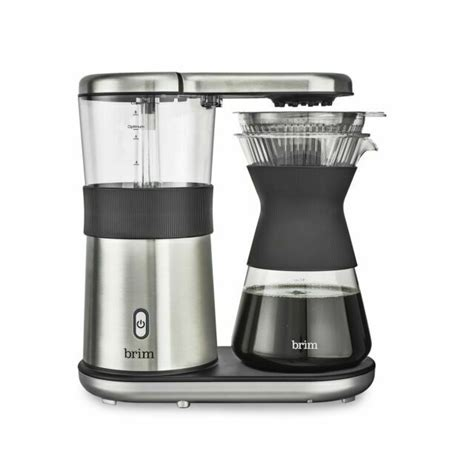 The satin copper finish and modern design will uplift any countertop. Brim 8 Cup Pour Over Coffee Maker Fcm1613 for sale online   eBay