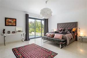 agencement decoration d39une villa eclectique chambre With agencement d une chambre
