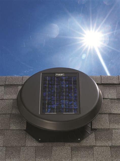 perks  solar powered attic fans hgtv