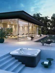 Whirlpool Für Draußen : mini swimmingpool vom garten mit whirlpool f r den au enbereich idfdesign ~ Sanjose-hotels-ca.com Haus und Dekorationen