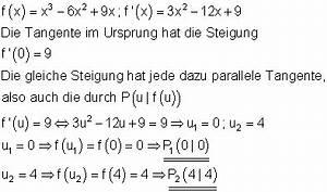 Steigung Tangente Berechnen : l sungen differenzialrechnung vii ~ Themetempest.com Abrechnung