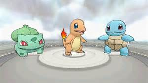 pokemon x and y will let you choose charmander le or bulbasaur