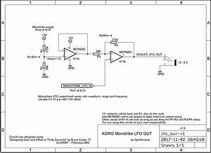 Korg Wiring Diagram