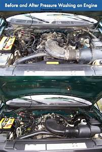 How To Pressure Wash You Car's Engine Bay