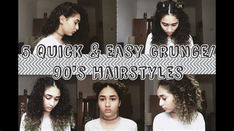 90s Grunge Hairstyles by 5 And Easy Grunge 90s Hairstyles