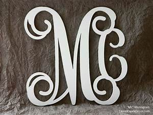 items similar to temporarily unavailable wood monogram With order letters for wall