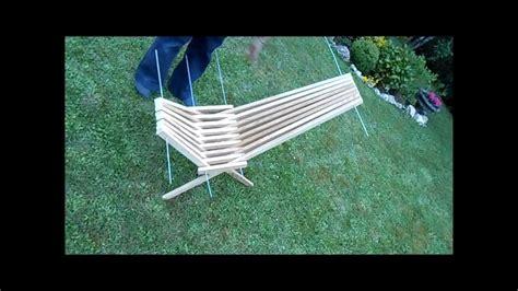 fabriquer une chaise pliante avec des tasseaux