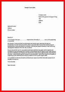 internship request letter apa example With cover letter for an internship with no experience