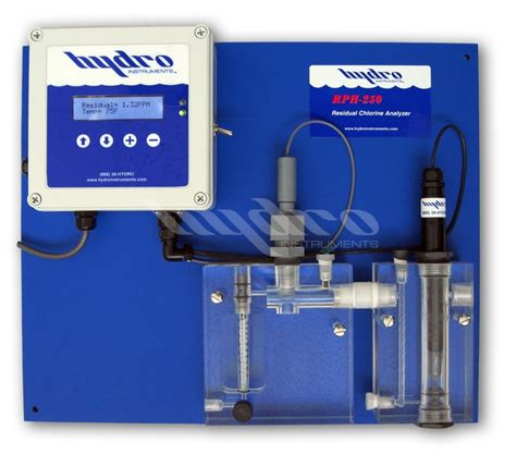 chlorine analyzer for ground water system global treat