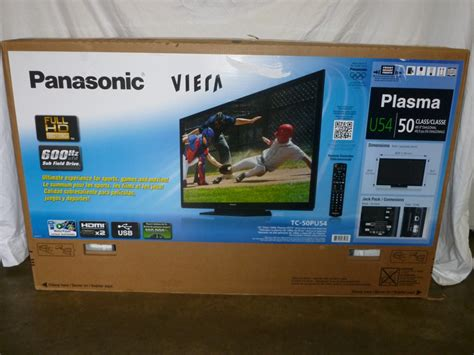 New! Panasonic Viera 50