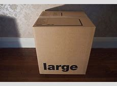Large Cardboard Box For Removals In Brighton & Hove