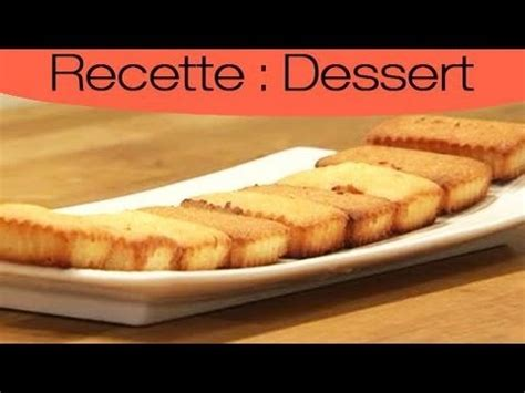 dessert comment faire un financier